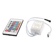 RGB LED 스트립 조명 24 버튼 리모컨 (12V)