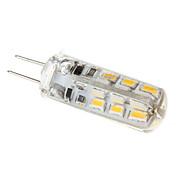 1.5w g4 led luces de maíz t 24 110-130 lm caliente blanco dc 12 v