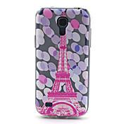 Para Funda Samsung Galaxy Diseños Funda Cubierta Trasera Funda Torre Eiffel TPU Samsung S4 Mini
