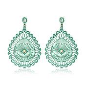 Pendientes colgantes Cristal La imitación de diamanteGema Cristal Perla Artificial Ágata Resina Brillante La imitación de diamante