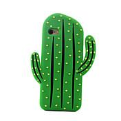 백 충격방지 과일 실리콘 소프트 cactus 케이스 커버를 들어 Apple iPhone 6s Plus/6 Plus / iPhone 6s/6 / iPhone SE/5s/5