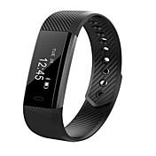 cardmisha ID15 inteligente pulsera reloj de alarma de vibración banda contador de pasos de fitness brazalete rastreador de la aptitud para