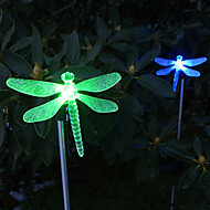 yusufçuk tarzı bahçe hissesini değişen ışık güneş rengi