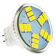 5W Żarówki punktowe LED MR11 15 SMD 5630 420 lm Zimna biel DC 12 V