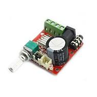 mini digitale audio versterker 10W + 10W / 2-kanaals versterker / diy module klasse d hifi 2.0 (DC12V)