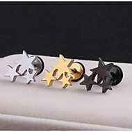 Sitne naušnice Tikovina Star Shape Jewelry Za Vjenčanje Party Dnevno Kauzalni Sport