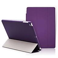 Kompatibilitás tokok Állvánnyal Origami Teljes védelem Case Tömör szín Kemény Műbőr Bőr mert Apple iPad (2017) iPad Pro 9.7 '' iPad Air 2