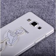 Voor Samsung Galaxy hoesje Transparant hoesje Achterkantje hoesje Sexy dame PC SamsungYoung 2 / Trend Lite / Trend Duos / J7 / J5 / J1 /