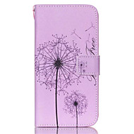 Na Samsung Galaxy Etui Etui na karty / Portfel / Z podpórką / Flip Kılıf Futerał Kılıf Dmuchawiec Skóra PU SamsungS6 edge plus / S6 edge