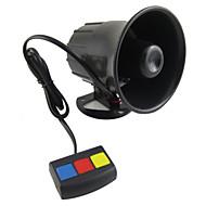 scolour baru yang universal 3 tom de alarme mobil Keamanan keras sirene Tanduk 12 v panas dc