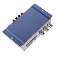hy502 mini-amplificador de potência do carro motocicleta áudio estéreo digital de apoio leitor de música mp3 som usb cd dvd fm sd