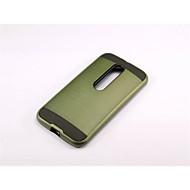 Mert Motorola tok Ütésálló Case Hátlap Case Páncél Kemény PC mert Motorola MOTO G4 / Moto G4 Plus