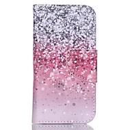 rode hemel geschilderd pu telefoon geval voor ipod touch5 / 6