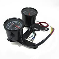 indicador tacômetro moto universal calibre hodômetro do velocímetro levou com suporte