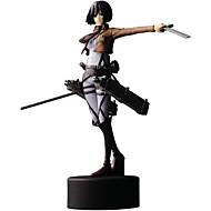 Anime Action Figures geinspireerd door Attack on Titan Mikasa Ackermann PVC 14 CM Modelspeelgoed Speelgoedpop