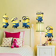 Cartoon Wall Stickers 3D Muurstickers,PVC 60*7*7cm