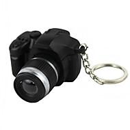 LED világítás / Kulcstartó Kamera formájú Különleges / Divat Kulcstartó Fekete Elhalványulnak Műanyag