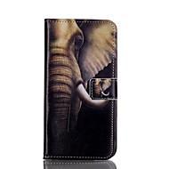 Mert Samsung Galaxy S7 Edge Pénztárca / Kártyatartó / Állvánnyal / Flip Case Teljes védelem Case Elefánt Műbőr SamsungS7 edge / S6 edge