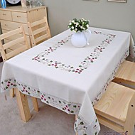 işlemeli masa örtüsü pamuk masa örtüsü keten masa örtüsü klasik 175x350cm (* 137inch 70)