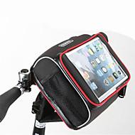 Rosewheel 자전거 가방자전거 핸들바 백 어깨에 매는 가방 방수 지퍼 착용 가능한 방습 충격방지 싸이클 가방 천 메쉬 싸이클 백 사이클링/자전거