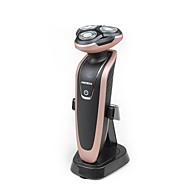 Elektroniczna maszynka do golenia Męskie Twarz Ręczny Elektryczny Akcesoria do golenia Rotary ShaverWodoodporny Dozownik Lubricant Niski