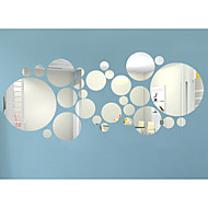 3D Veggklistremerker Fly vægklistermærker Veggklistremerker i Speilstil Dekorative Mur Klistermærker MaterialeKan fjernes Kan