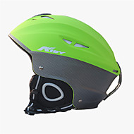 Γιούνισεξ Κράνος L: 58-61CM Αθλήματα Πολύ Ελαφρύ (UL) Σταθερό 14 CE EN 1077 Σκι / Χειμερινά Σπορ Πράσινο PC / EPS