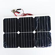 zdm® 20w 12v çıkış 1,35 monokristal silisyum güneş paneli (dc12-18v)