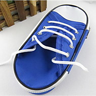 새 연필 케이스 캔버스 신발 간단한 대용량 문구 가방
