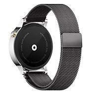 pinhen 22mm milanese Pętla Magnes stal nierdzewna siatka wymiana klamry pasek opaski dla Samsung Gear s3