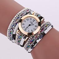 Damskie Modny Zegarek na nadgarstek Zegarek na naszyjniku Zegarek na bransoletce Kwarcowy Kolorowy Stop PasmoPostarzane Błyszczące