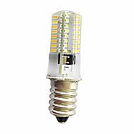 5W E14 E12 E11 장식 조명 T 64 SMD 3014 380 lm 따뜻한 화이트 차가운 화이트 밝기 조절 AC220 V 1개