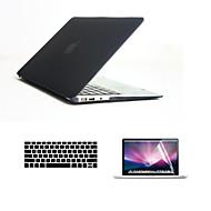 """3 σε 1 γεμάτο σώμα σκληρό περιπτώσεις με πληκτρολόγιο κάλυψη και HD οθόνη προστάτης για MacBook Air 13.3 """"(διάφορα χρώματα)"""