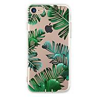 Til iPhone 7 etui iPhone 7 Plus etui iPhone 6 etui Etuier Ultratyndt Mønster Bagcover Etui Træ Blødt TPU for Apple iPhone 7 Plus iPhone 7