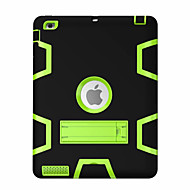 Für Stoßresistent mit Halterung 360° Drehbar Hülle Handyhülle für das ganze Handy Hülle Geometrische Muster Hart PC für Apple iPad 4/3/2