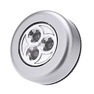 led érintés nélküli éjszakai fény 3leds bottal csap szekrény érintés lámpa mini fali lámpa szekrény fény elemek nélkül