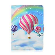 Obudowa balonowa ze szkinstonem odporna na wstrząsy z podstawą do spania magnetyczny wzór pełna tkanina pu dla wszystkich 9,5 - 10,5 cala