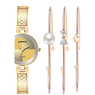 Damskie Do sukni/garnituru Modny Zegarek na nadgarstek Zegarek na bransoletce Kwarcowy Wodoszczelny Odporny na wstrząsy KolorowyStal