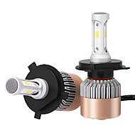 H4 36W / db 7200lm vezetett reflektora kit magas tompított cserélje halogén xenon csp vezetett fényszórók vezetett fényszórókban 2 db