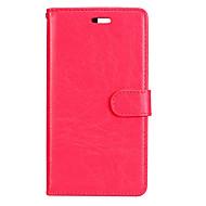 Voor huawei p8 lite (2017) p10 case cover klassieke drie kaarten solide kleur pu huid materiaal portemonnee telefoon hoesje p10 p9 p8 lite