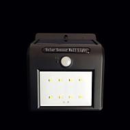 Έλεγχος ηλιακού φωτός 16 λυχνιών φωτισμού αισθητήρα ανθρώπινου σώματος υπαίθρια αυλή λαμπτήρα τοίχου ενσωματωμένο φώτα δρόμου