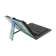 Na Etui Pokrowce Z podpórką Z klawiaturą Flip Wzór Futerał Kılıf Mandala Twarde Sztuczna skóra na AppleiPad Mini 4 iPad Mini 3/2/1 Tab 4