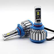 70w 7200lm 9005 hb3 philips led lámpa fényszóró készlet autófénylámpák upgrade 6000k
