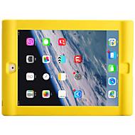 Apple iPad 4/3/2 iskunkestävä takakansi tapauksessa yksivärinen pehmeä silikoni