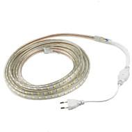 40W Esnek LED Şerit Işıklar 3600 lm AC220 V 3 m 180 led Sıcak Beyaz Beyaz Kırmızı Sarı Mavi Yeşil