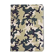 Voor appel ipad (2017) 9.7 hoesje kaarthouder met standaard hoesje camouflage kleur hard pu leer voor ipad lucht 2 / ipad lucht 1