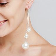 Γυναικεία Κρεμαστά Σκουλαρίκια Απομίμηση ΜαργαριτάριΜοντέρνα Εξατομικευόμενο Euramerican ταινία Κοσμήματα κοσμήματα πολυτελείας Κοσμήματα