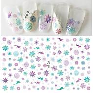 1 아트 스티커 네일 패턴 여아 & 여성 3-D DIY 용품 스티커 메이크업 화장품 아트 디자인 네일