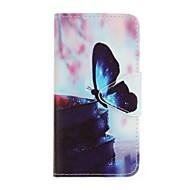 Voor case cover kaarthouder portemonnee schokbestendig volledige body case vlinder zacht pu leer voor samsung j5 (2016) j5 j3 (2016)