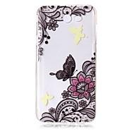 voor case cover ultra dun transparant patroon achterkant hoesje vlinder bloem zachte tpu voor Samsung Galaxy J7 (2016) j7 (2017) j7 v j7